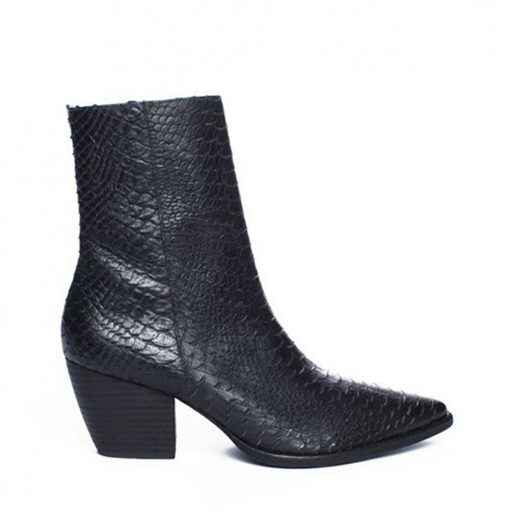 MATISSE CATY TAPERED MID BOOT Black
