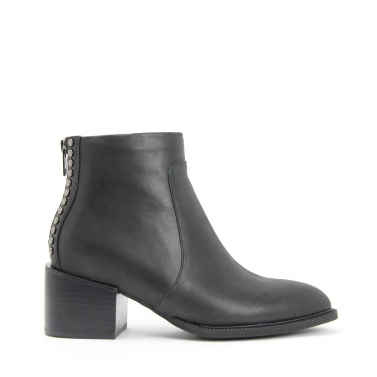 JEFFREY CAMPBELL LINNEA ANKLE BOOT Black