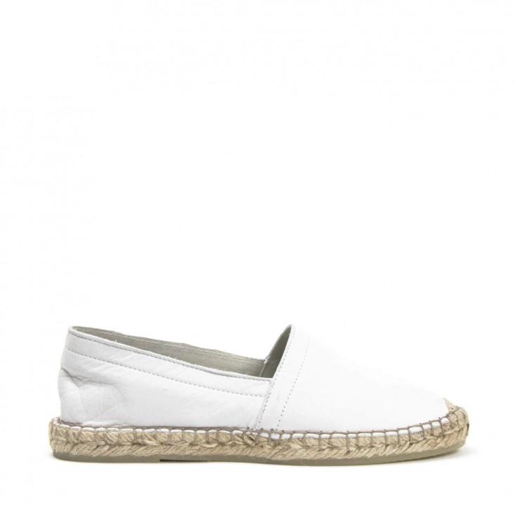 ESPA ESPADRILLE White Calf Leather