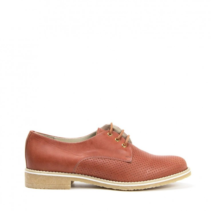 KMB X866 DERBY SHOE Cuero Leather