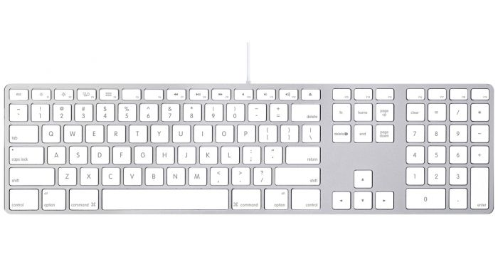Apple Keyboard with Numpad