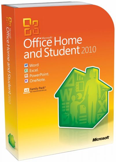 MS Office Home & Student 2010