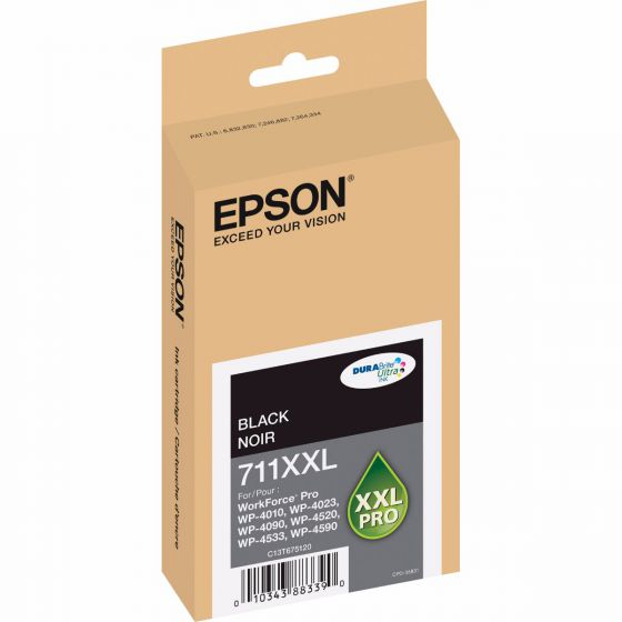 Epson Workforce Pro 711XXL Black ink