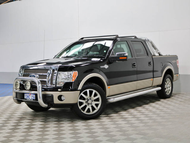 USED FORD F-150 KING RANCH DUAL CAB AUTO