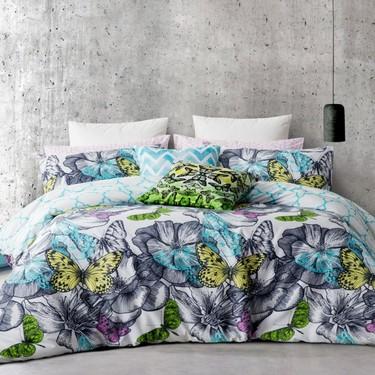 Mode Maisie Quilt Cover Set Multicolourd