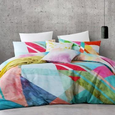 Mode Ophelia Quilt Cover Set Multicolour