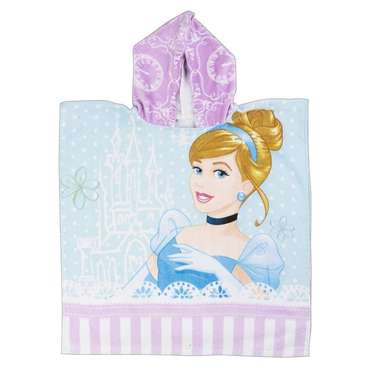 Disney Princess Hooded Towel Multicolour