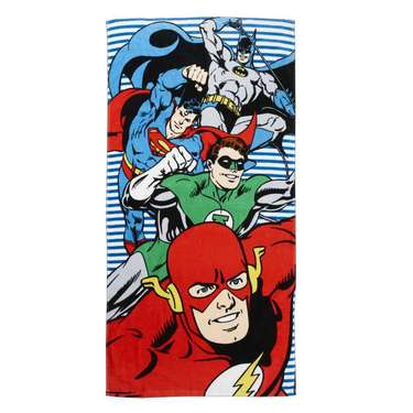 Justice League Bath Towel Multicoloured
