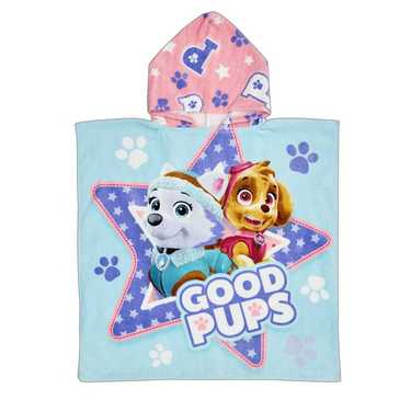 Paw Patrol Skye Hooded Towel Pink
