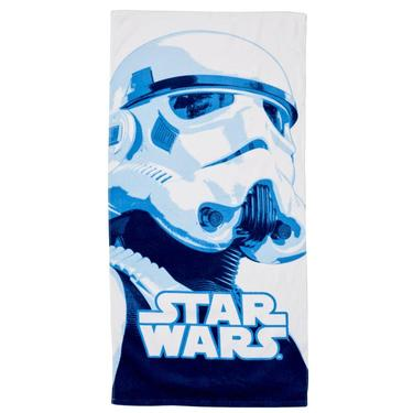 Star Wars Storm Trooper Bath Towel Blue