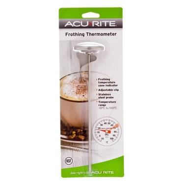 Acurite Large Frothing Thermometer Grey