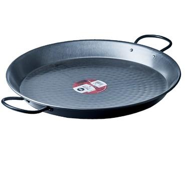 Vaello Polished Steel Paella Pan Carbon