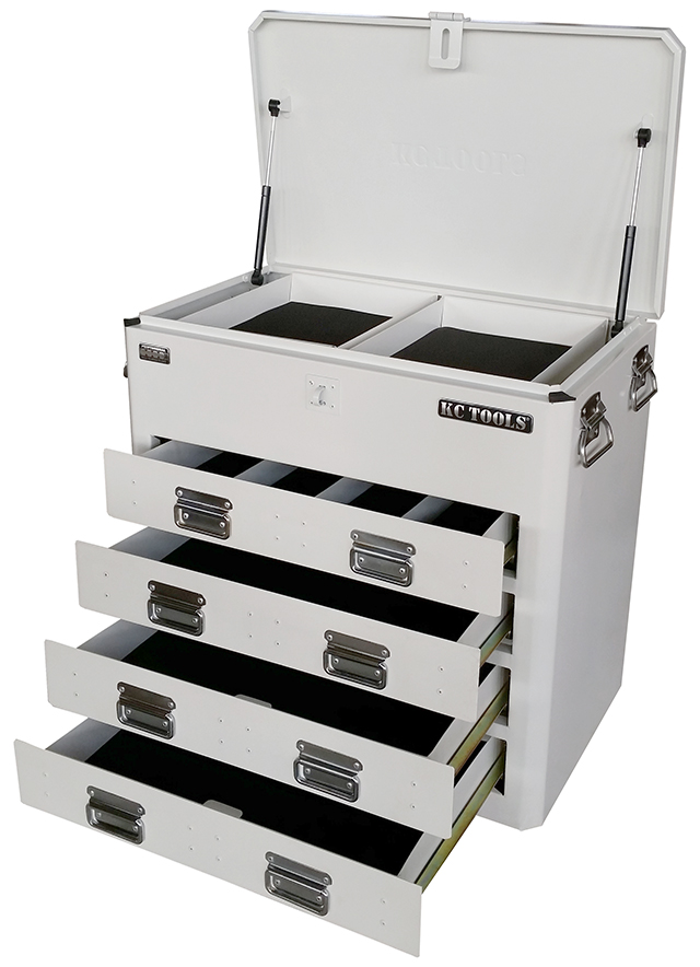 4 DRAWER UTE BOX - WHITE
