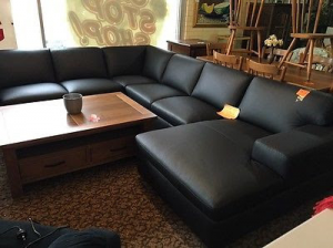 Modular Leather Lounge