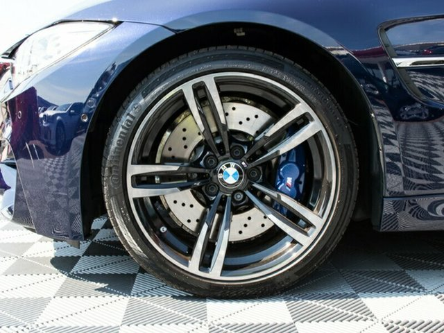 2016 BMW M3 F80 LCI M-DCT BLUE 7 SPEED S