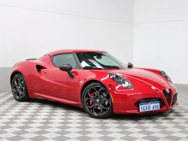 2015 ALFA ROMEO 4C LAUNCH EDITION RED 6