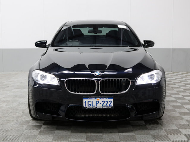 2012 BMW M5 F10 MY12 BLACK 7 SPEED AUTO
