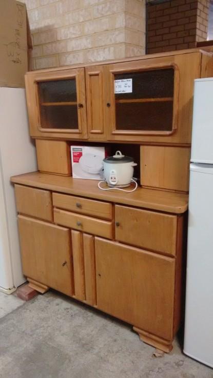 old style kitchen dresser