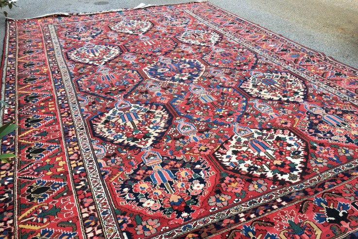 PERSIAN HANDKNOTTED TRADTIONAL WOOL RUG