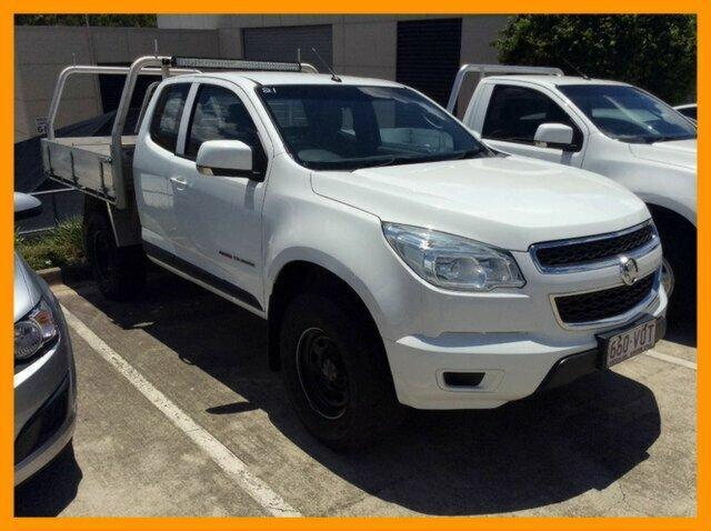 2015 HOLDEN COLORADO LS SPACE CAB CHASIS