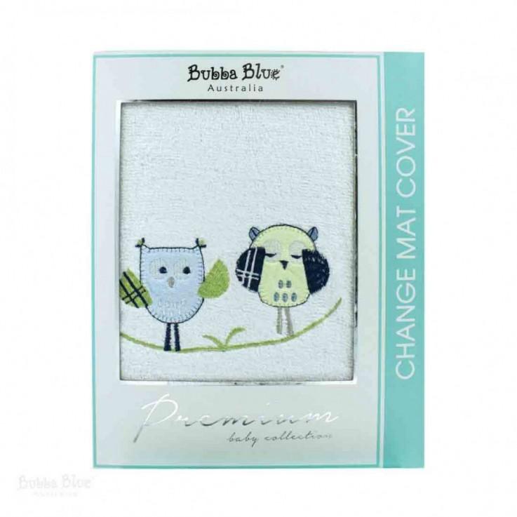 BB Boy Baby Owl Change Mat Cover