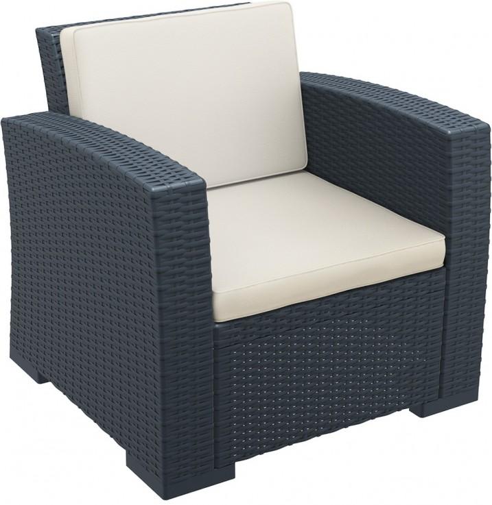 Monaco Lounge Armchair With Cushions