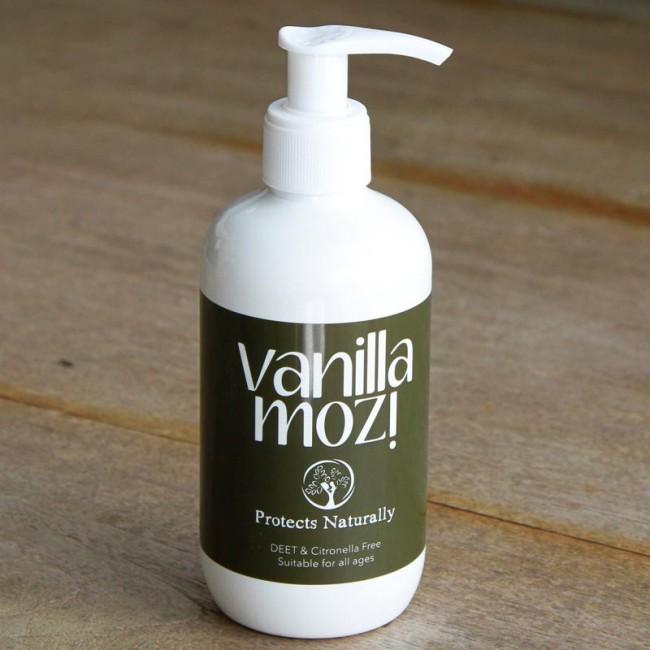 250ml Vanilla Mozi Pump Bottle