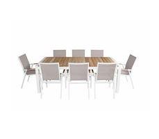 Leura Dining Setting 9pce
