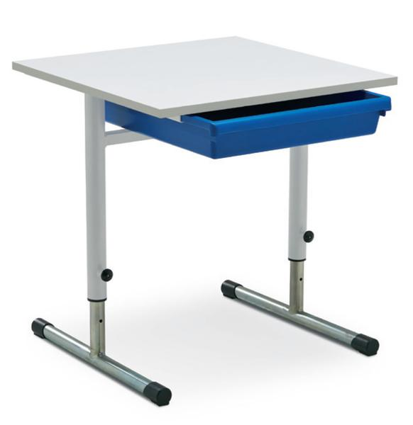 Eduflex Single Desk T Leg With Tray