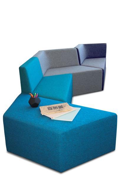 The Tetris Ottoman Lounge
