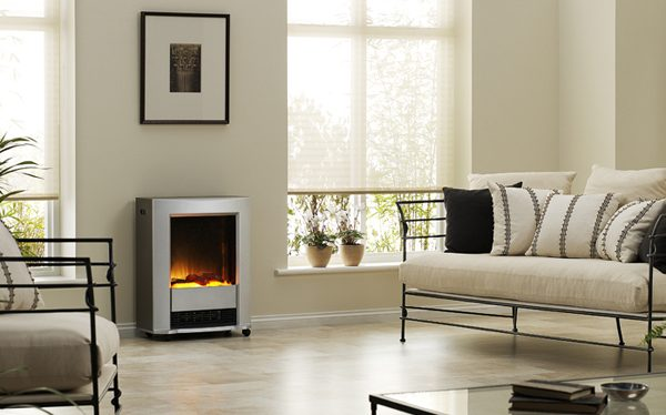 Dimplex Lee Silver 2kW Portable Electric
