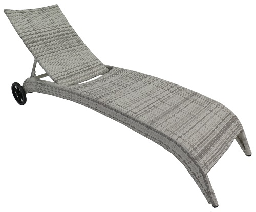 Shelta Mediterranean Chaise Outdoor