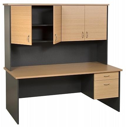 Trent Desk & Hutch Unit