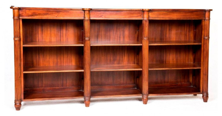 Winslow Low Bookcase (3 Panels)