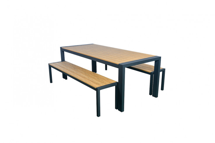Harbour 3 Piece Large Bench Setting