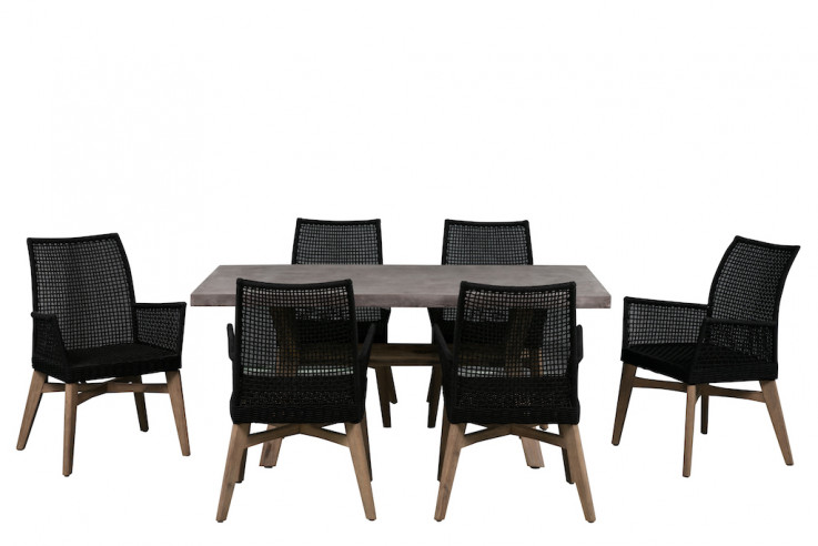 Oslo 7 Piece Outdoor Dining Setting