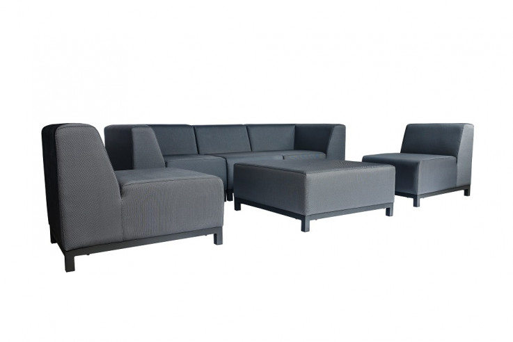 Breeze 3 Seater Upholstered Lounge