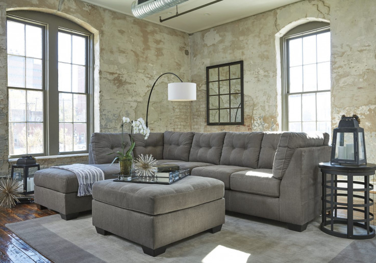 Colton LHF Chaise Lounge Suite with Otto