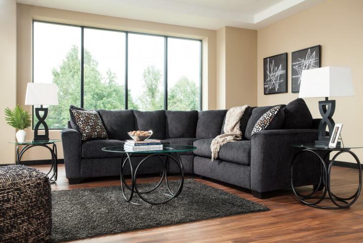 Phoenix Corner Lounge Suite : Slate