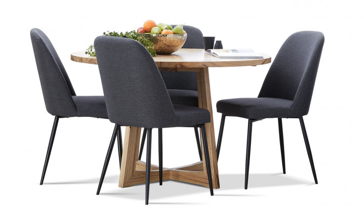 Gippsland dining suite with Indy chairs