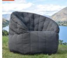 Butterfly Sofa - Black Rock
