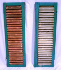 Assorted Shutters & Doors