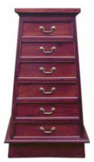 Pyramid Chest of Drawers 6 Drw