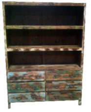 Bookcase 6 Drw