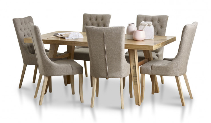 Alice dining suite with Evelyn chairs