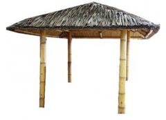 Bali Gazebo without sides 2m x 2m