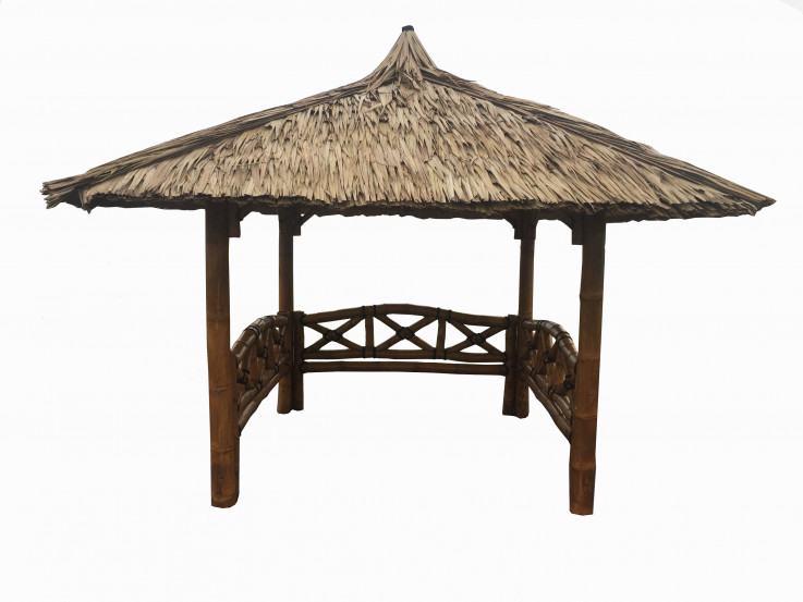 Bali Gazebo with sides 3m x 3m