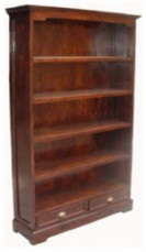Chintz Bookcase 2 Drw