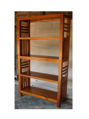 Bookcase Stripe Sides