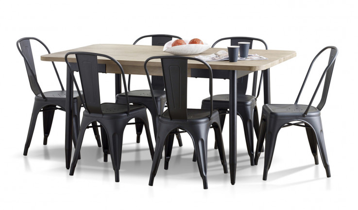 Alba dining suite with Panama chairs